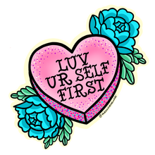 Valentines Conversation Hearts stickers