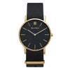 Men's Thin Gold Watch Nato Strap - Mark 1 - Carnaby - 38mm