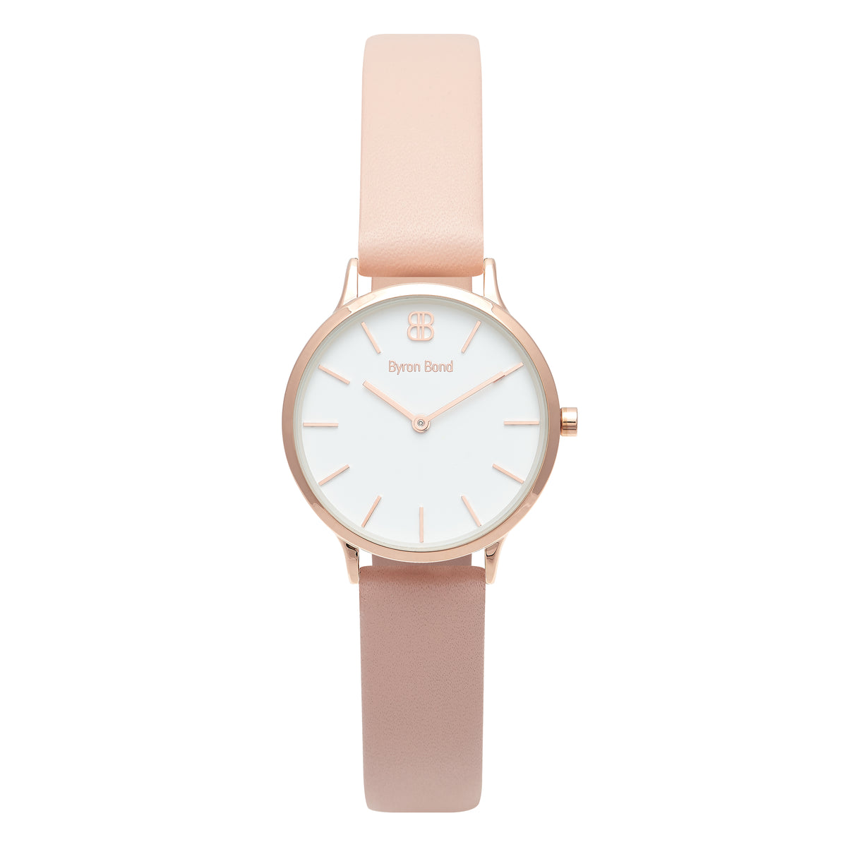 b41531716 Women's Small Rose Gold Watch White Dial Pink Leather Strap - Mark 5 -  Victoria -