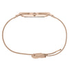 Slim Minimalist Rose Gold Watch Pearl Dial Men's & Women's Mesh Strap - Mark 1 -Clerkenwell - 38mm