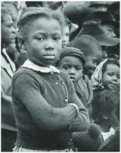 Vintage Poster, African American child;