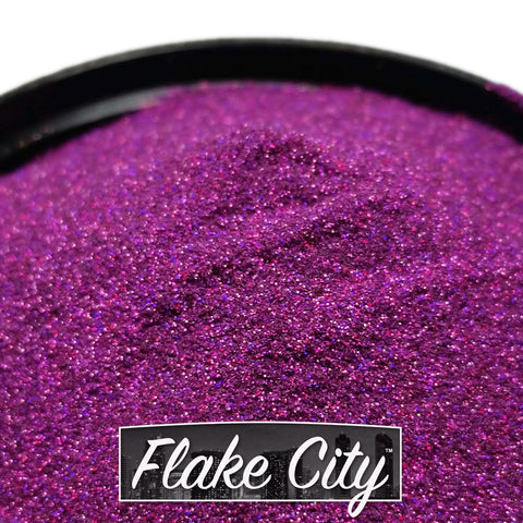 ".004"" Light Purple Holographic Flakes"