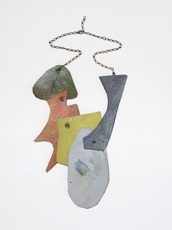 Justine Hill | Necklace - Untitled (Earth, Five)