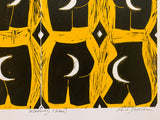 Paula Wilson | Mooning (Yellow)