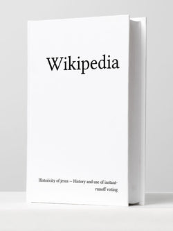 Michael Mandiberg | History from Print Wikipedia