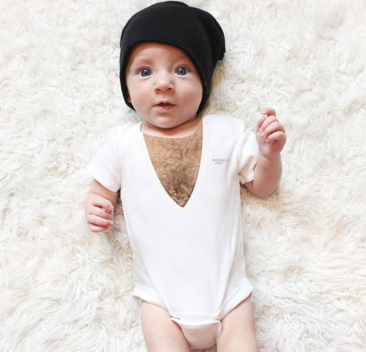 Sean Fader | Wishing Pelt Chest Hair Baby Onesie