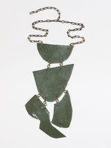 Justine Hill | Necklace - Untitled (White, Four)