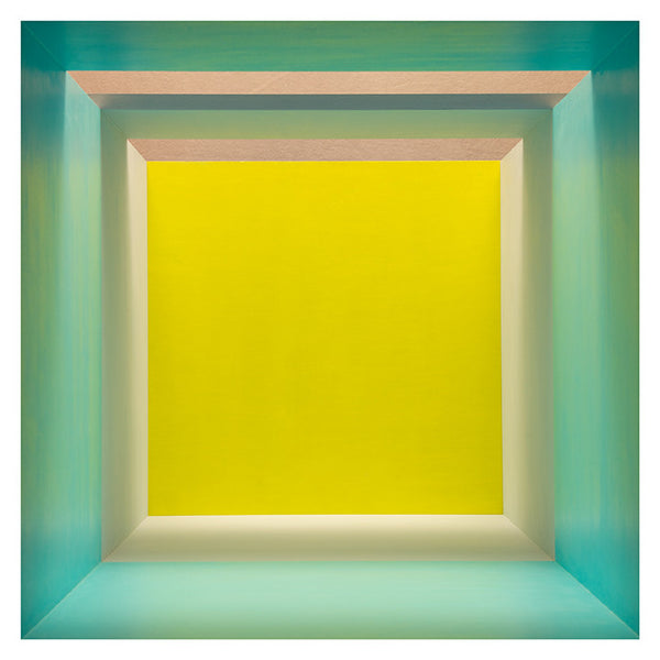 Erin O'Keefe | Empty (Aqua, Grey, Yellow, Top Light)
