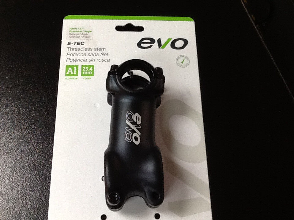 EVO E-TEC STEM 28.6MM 70MM