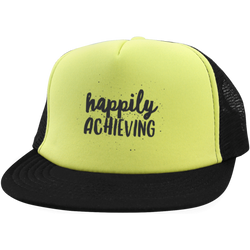 Happily Achieving Trucker Hat