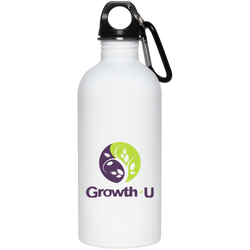 Growth-U Stainless Steel Water Bottle - 20 oz.