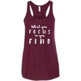 What You Focus On You Find Women's Tank