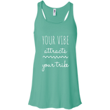 Your Vibe Attracts Your Tribe Women's Tank