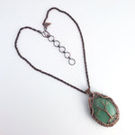 Green Aventurine Tree of Life Necklace