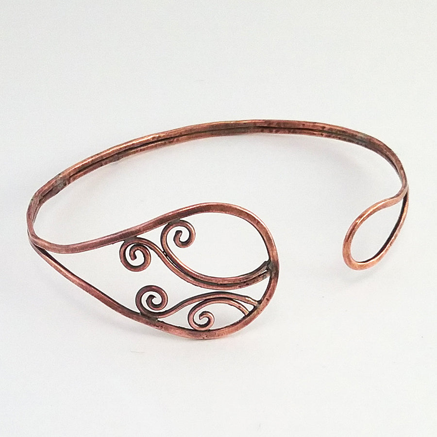 """Sorcha"" Copper Bracelet"