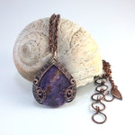 Purple Charoite Reversible Necklace
