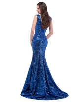 Long Shine Mermaid Party Dress