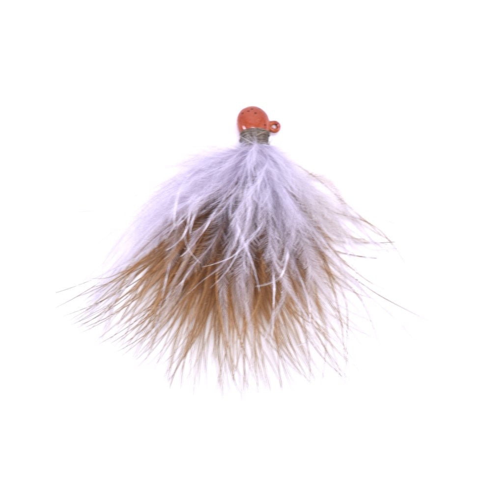Marabou Jig - Sculpin Olive / Grey (2)
