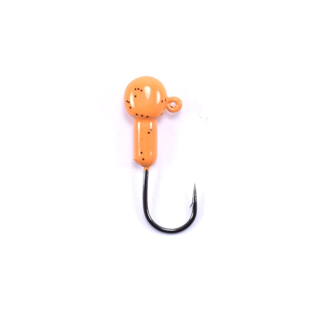 Marabou Jig Head - Pumpkin Orange (10)
