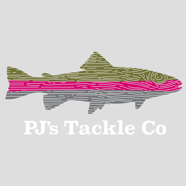 PJ's Tackle Co Sticker