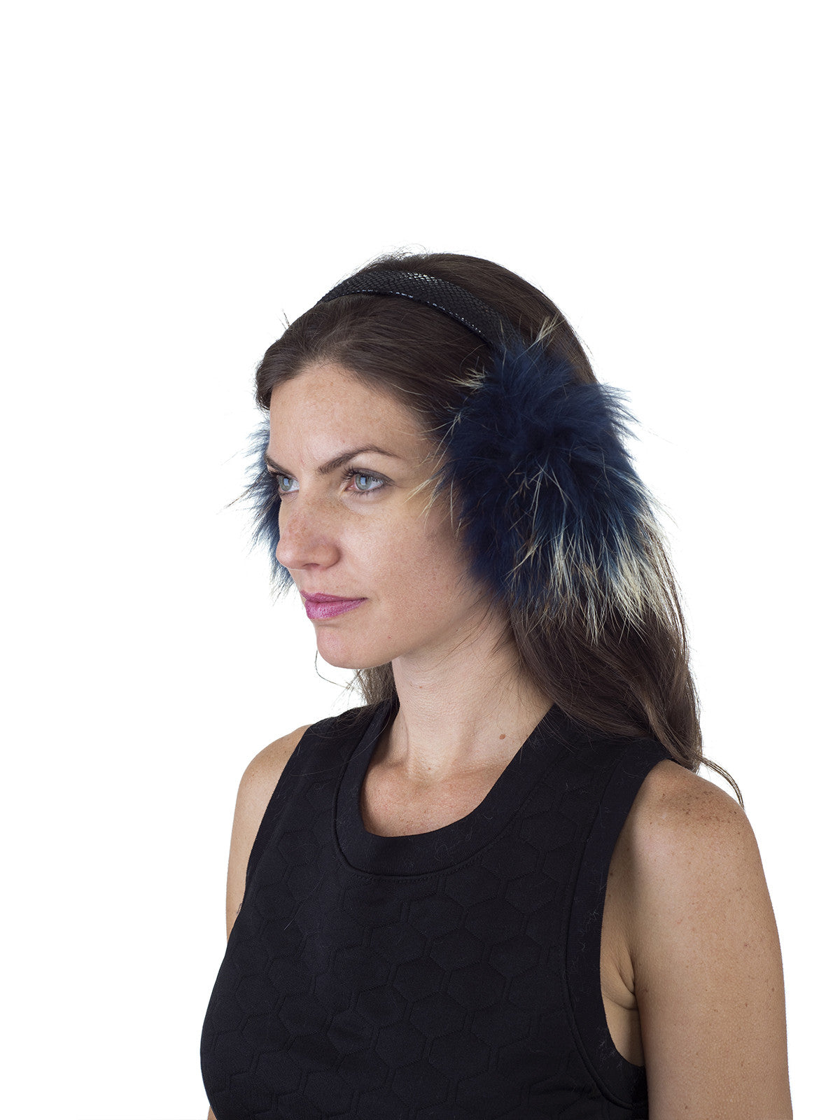 Multi Color Finn Raccoon Earmuff