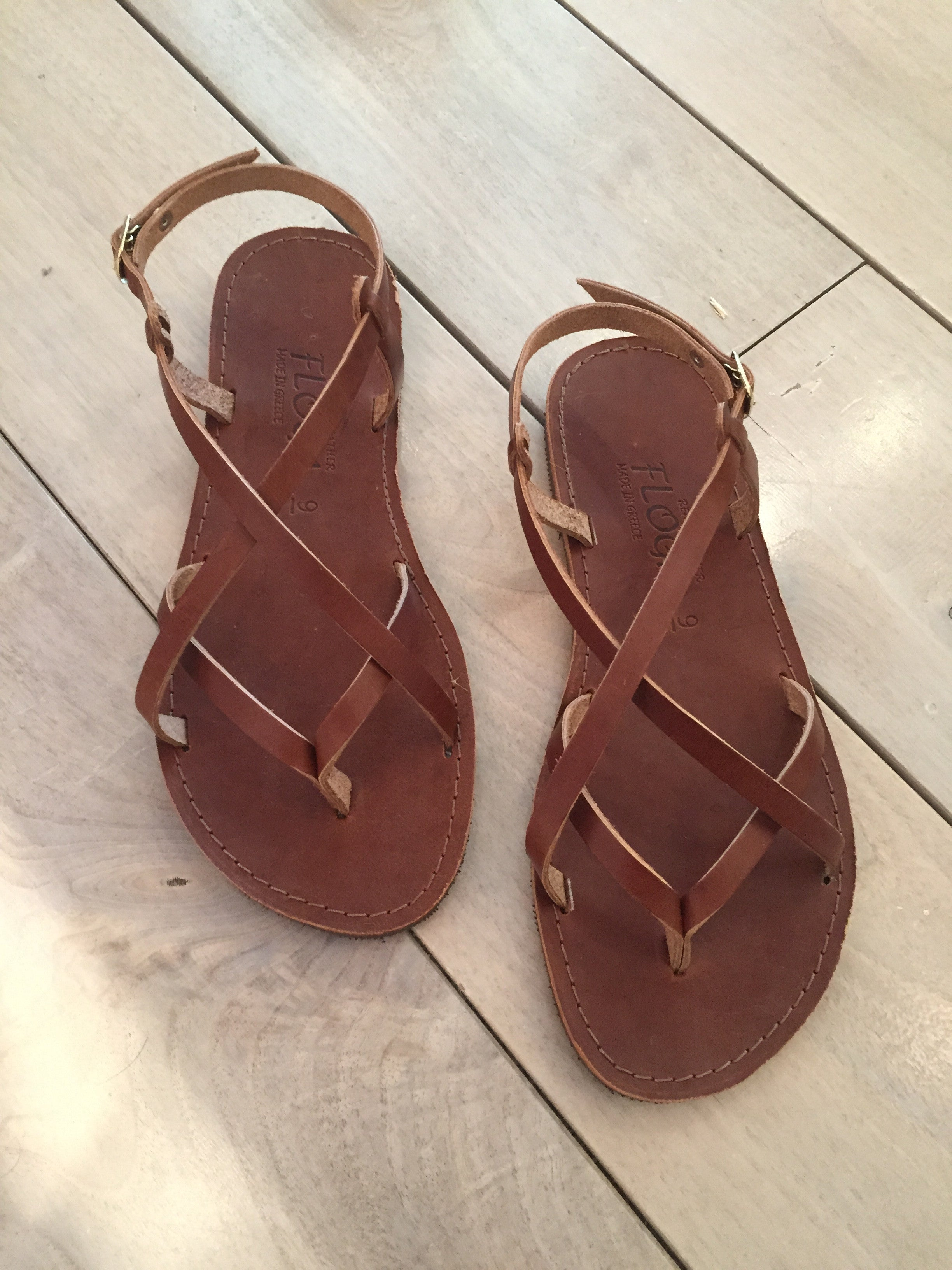 cc69d8d21fd Greek Sandals - Floga New York
