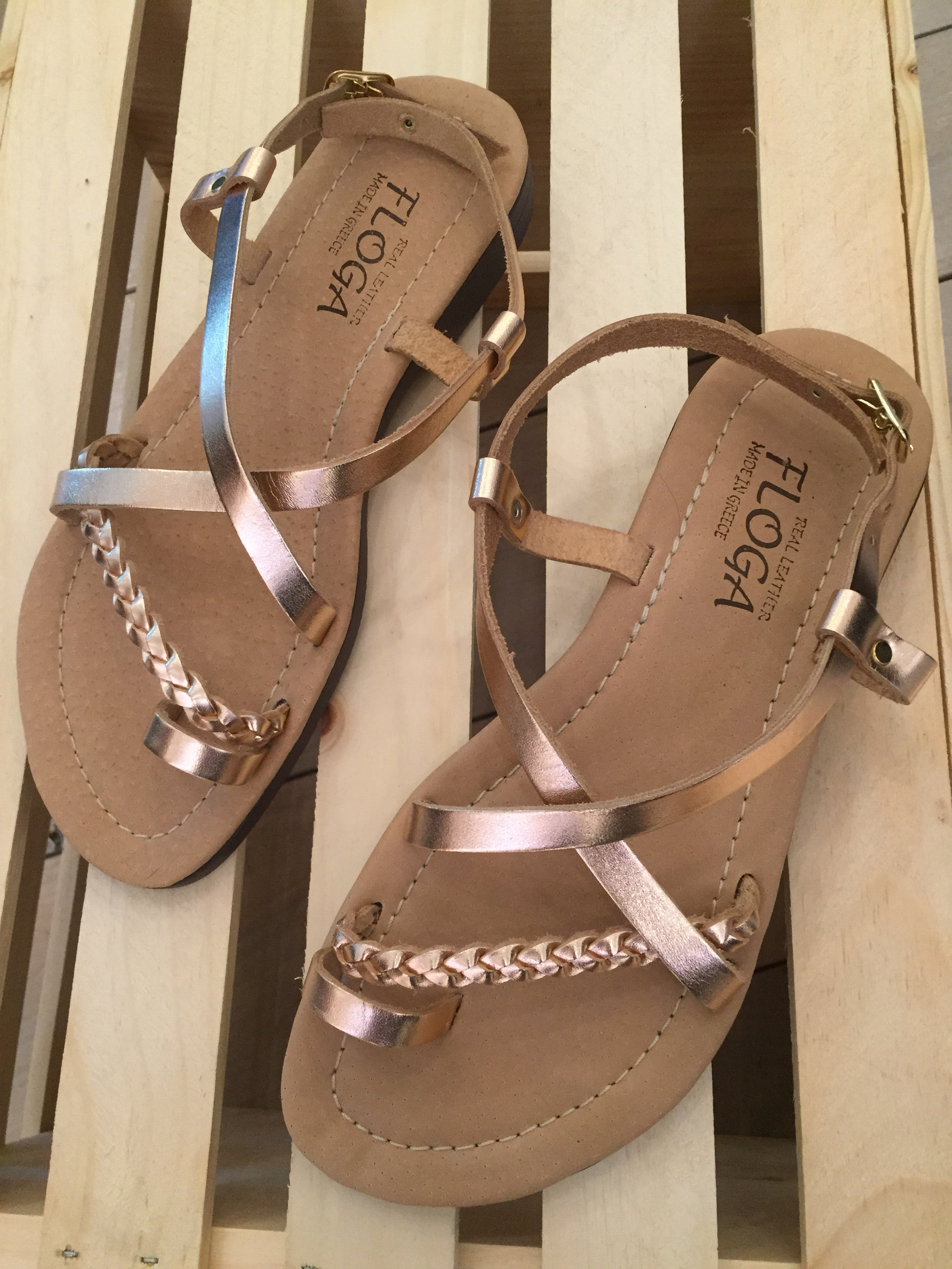 Efimia Greek Leather Sandals