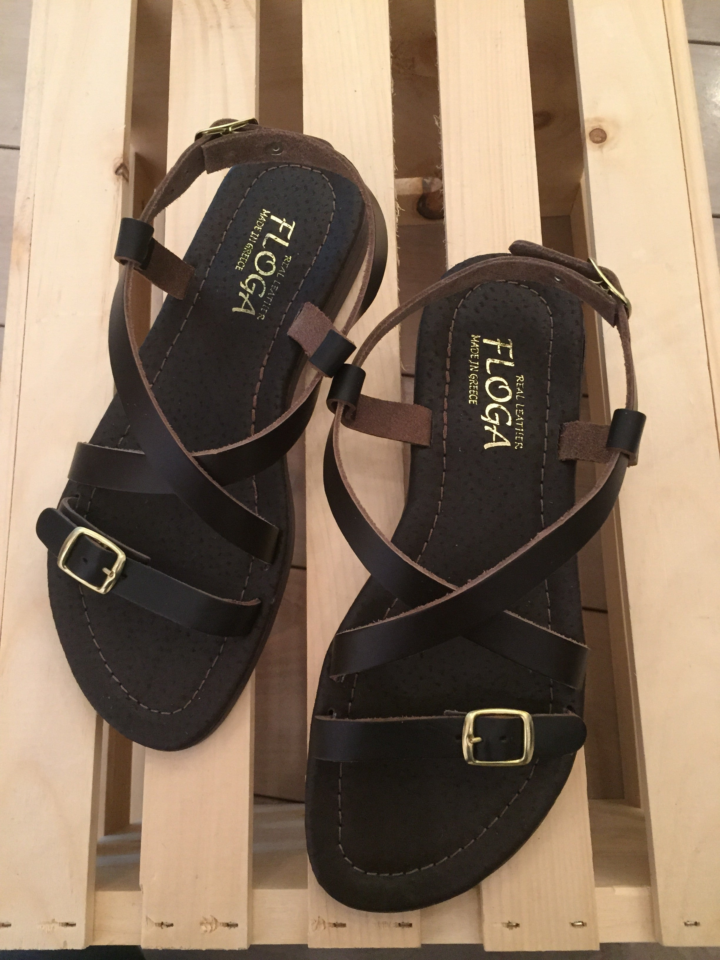 Polymnia Greek Leather Sandals