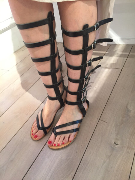 Andromache Greek Leather Sandals