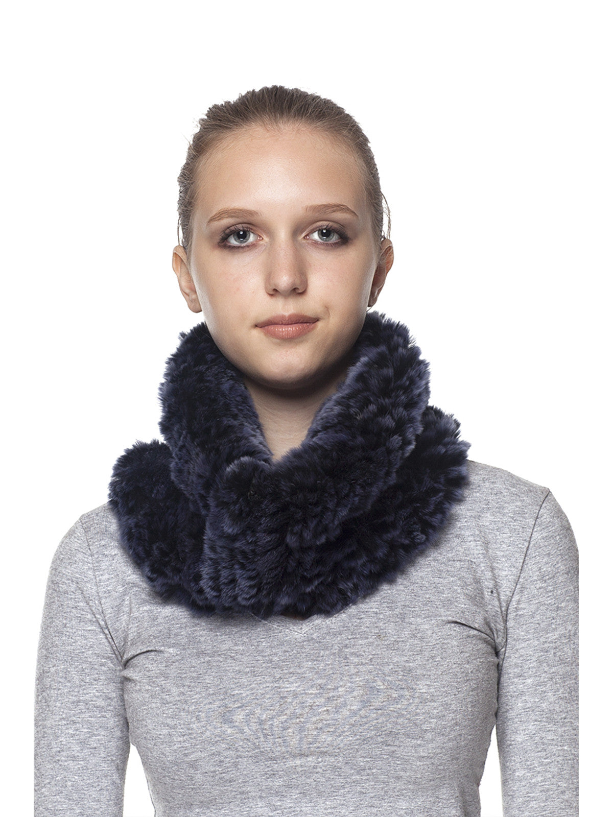Blue Rex Rabbit Scarf