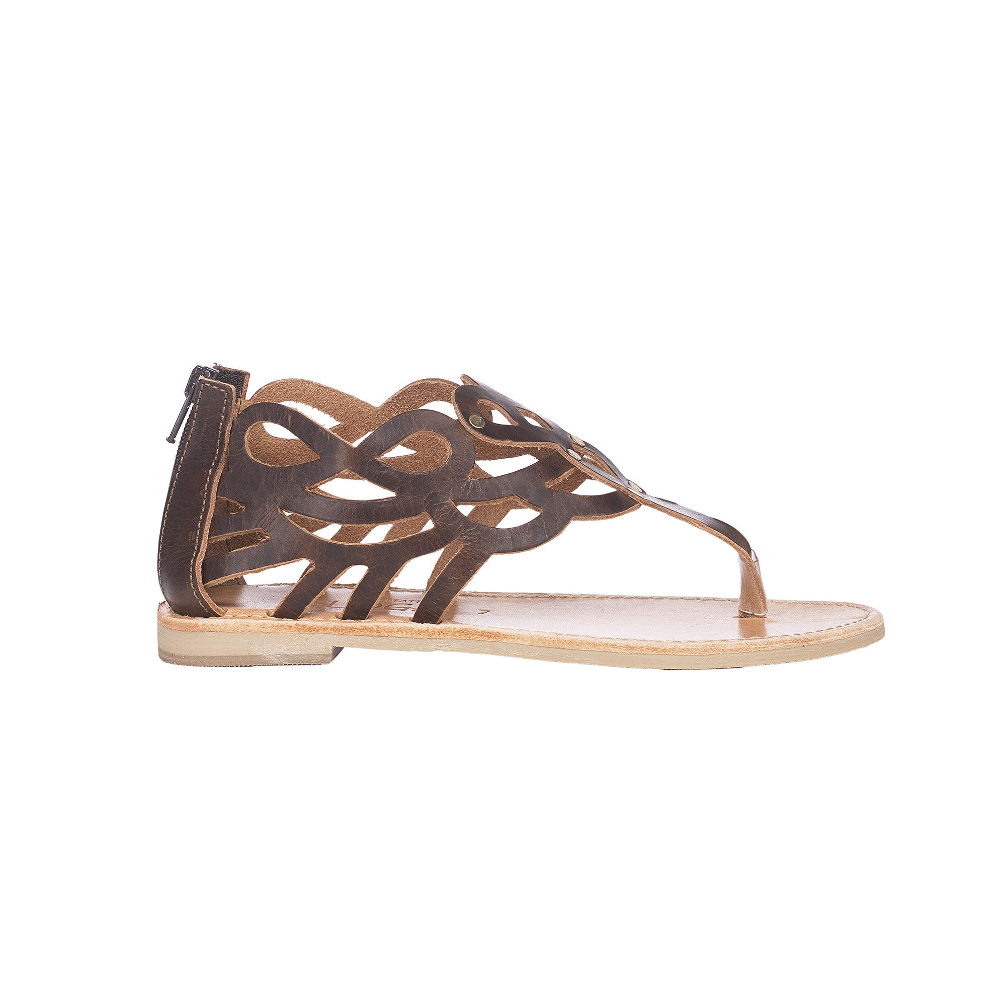 Nemesis Greek Leather Sandals