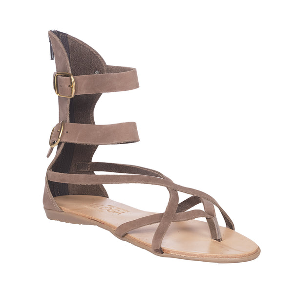 Marina Greek Leather Sandals