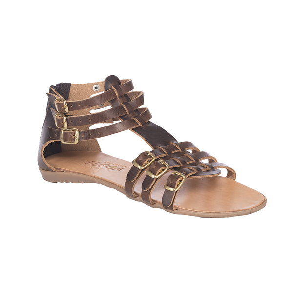 Greek Leather Sandals Ioulia