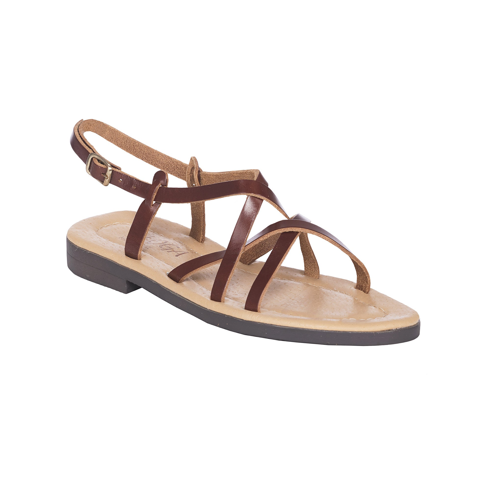 Alkyone Greek Leather Sandals