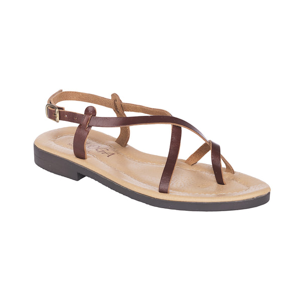Aikaterina Greek Leather Sandals