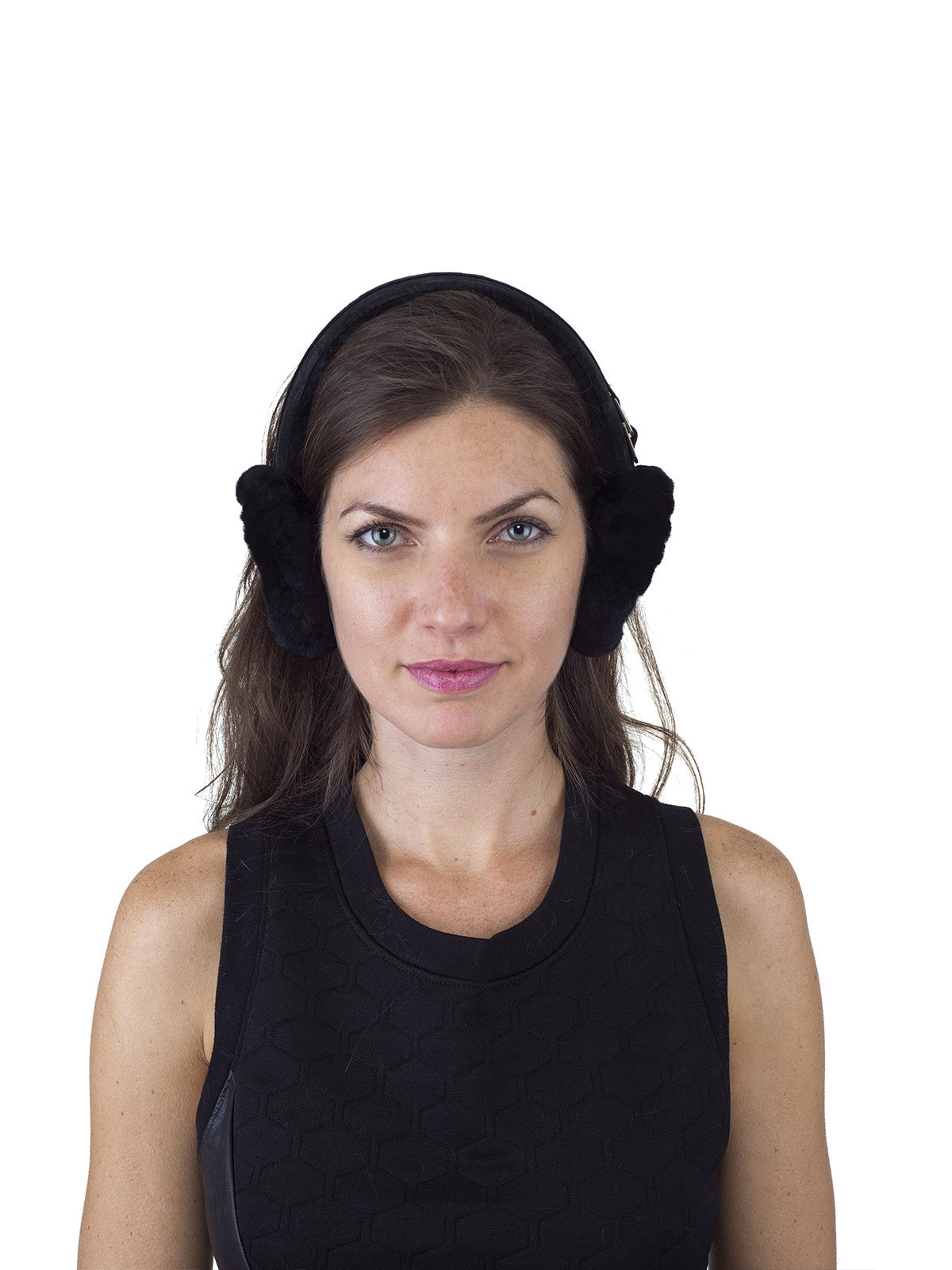 Black Sheepskin Earmuff