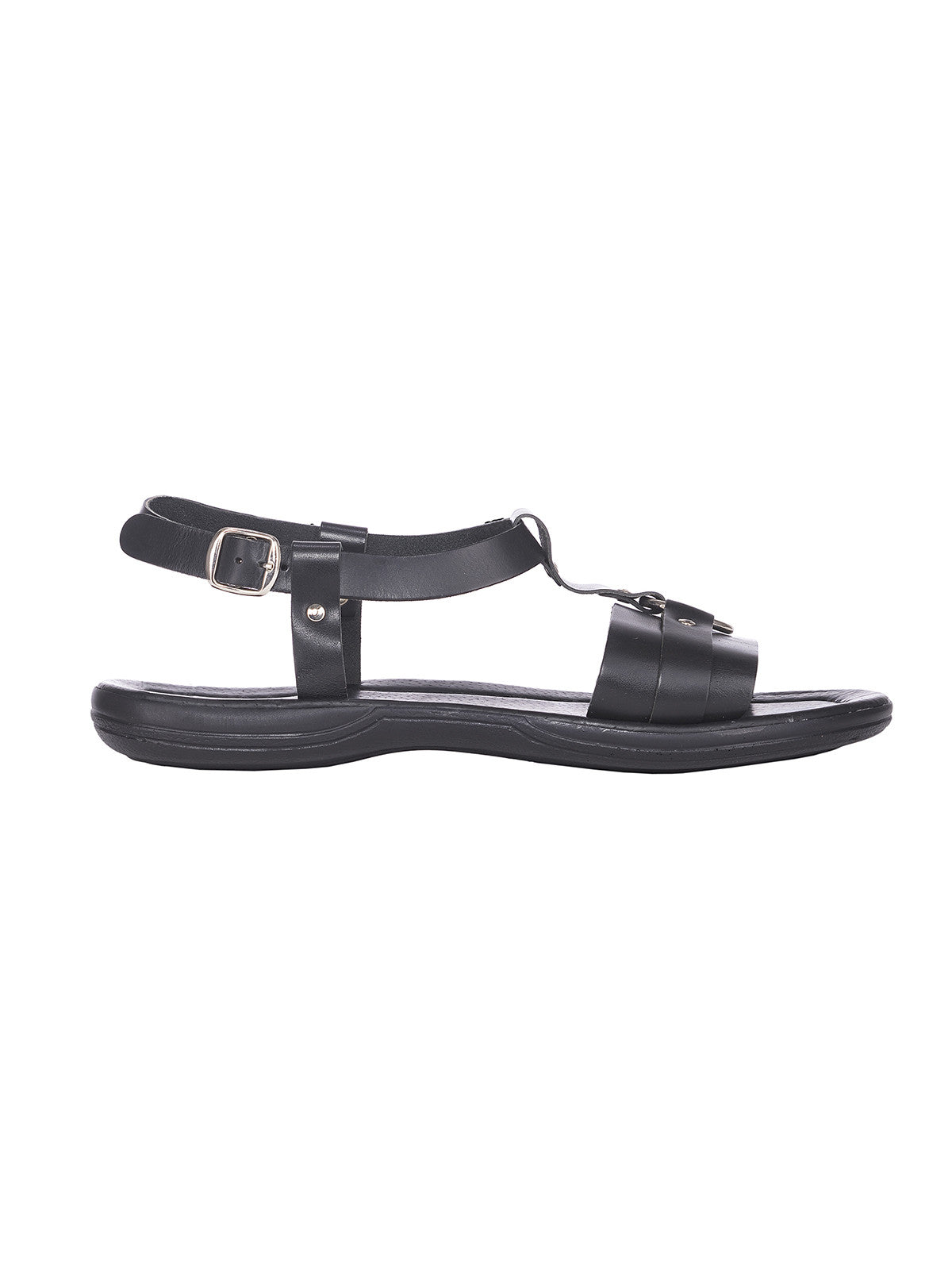 Greek leather leather sandals