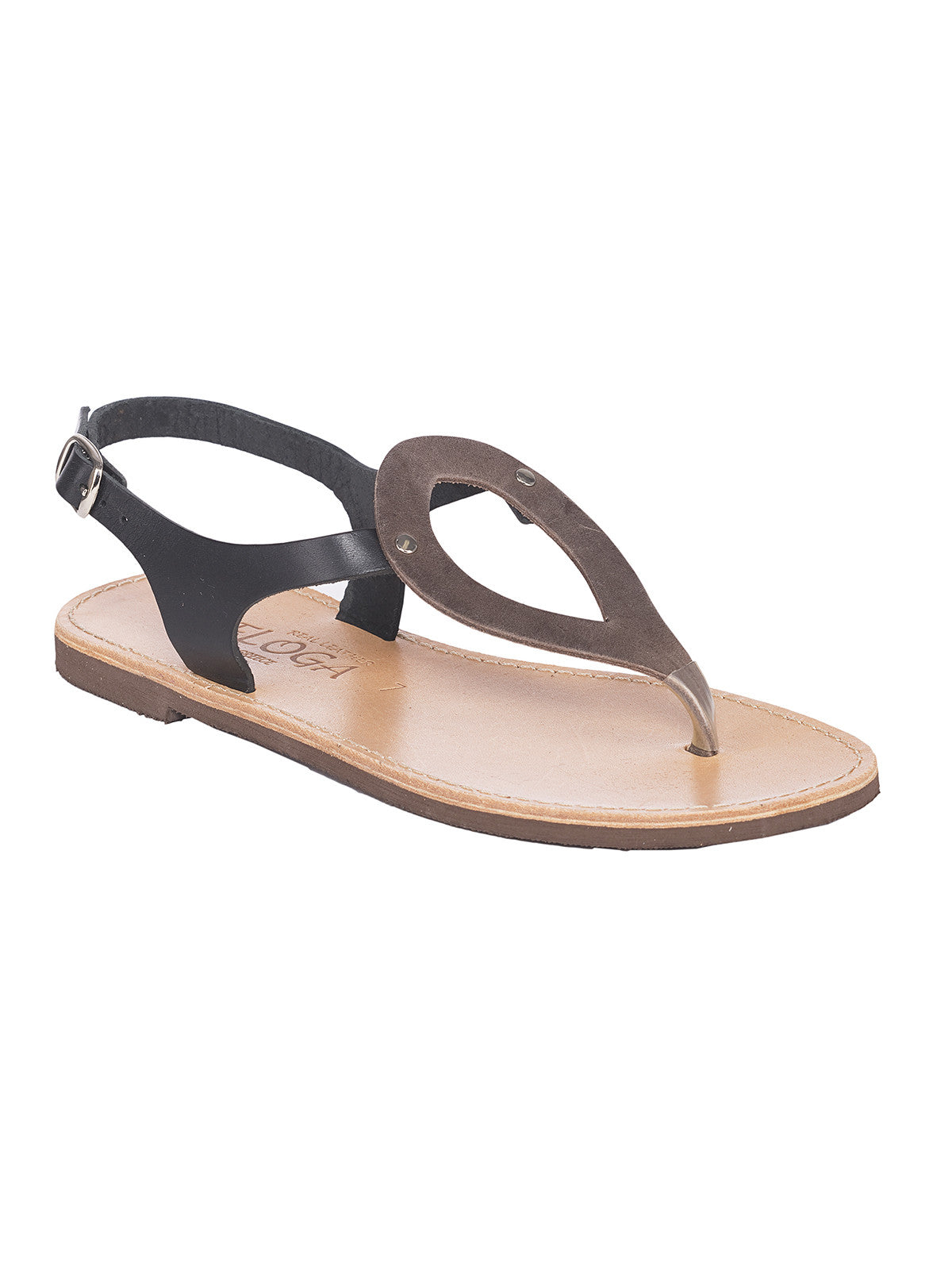 Ioanna Greek Leather Sandals