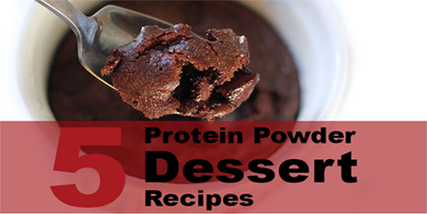 5 Protein Powder Dessert Recipes [PDF Download]