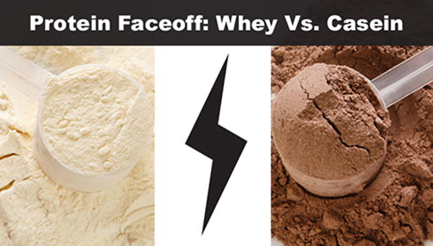Protein Faceoff: Whey Vs. Casein.  Which is Better?