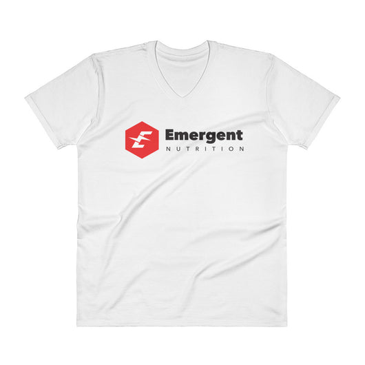 Emergent Nutrition Men's V-Neck Fitted Tee