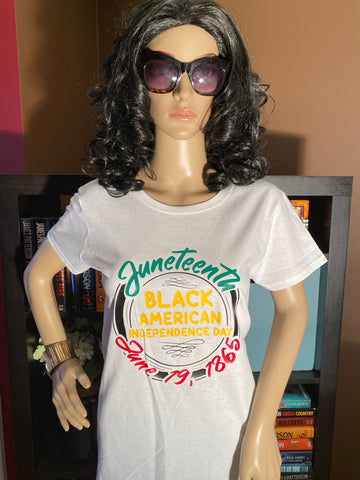 Juneteenth Black American Independence Day T-Shirt