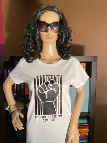 Juneteenth Celebrate Freedom Fist T-Shirt