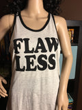 Flawless Women's Screened Scrunchie Racerback Tank - Girls Love Stuff