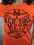 Women's New York Mets Graphic T-Shirt - Girls Love Stuff