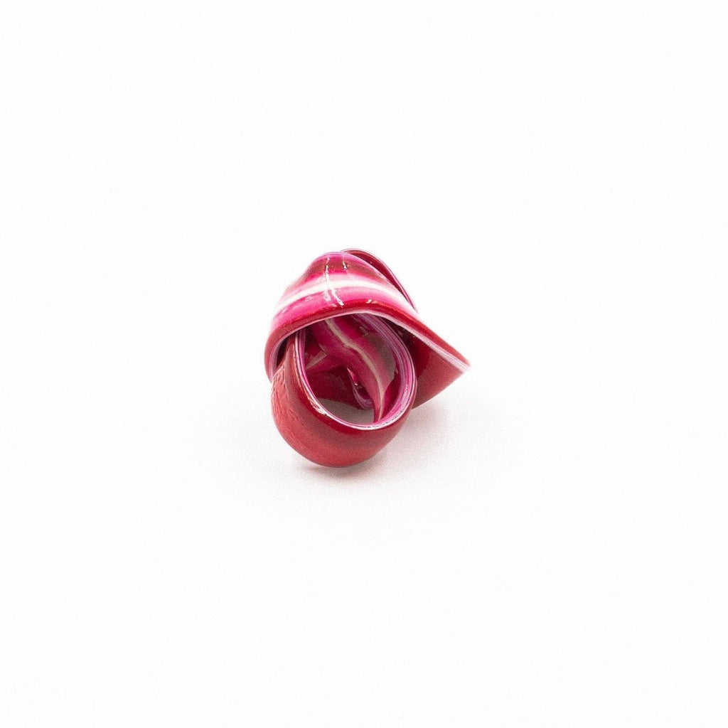 Bague en résine rose de Gaetano Pesce - Fish Design-The Woods Gallery