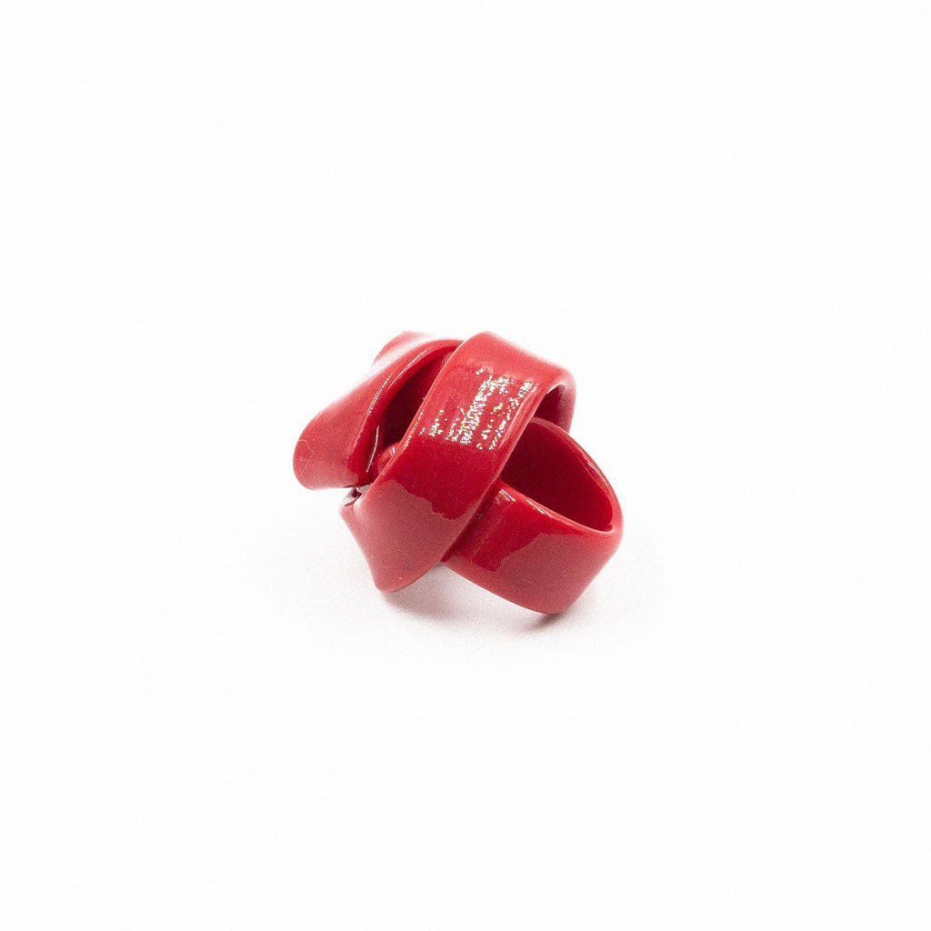 Bague en résine rouge de Gaetano Pesce - Fish Design-The Woods Gallery