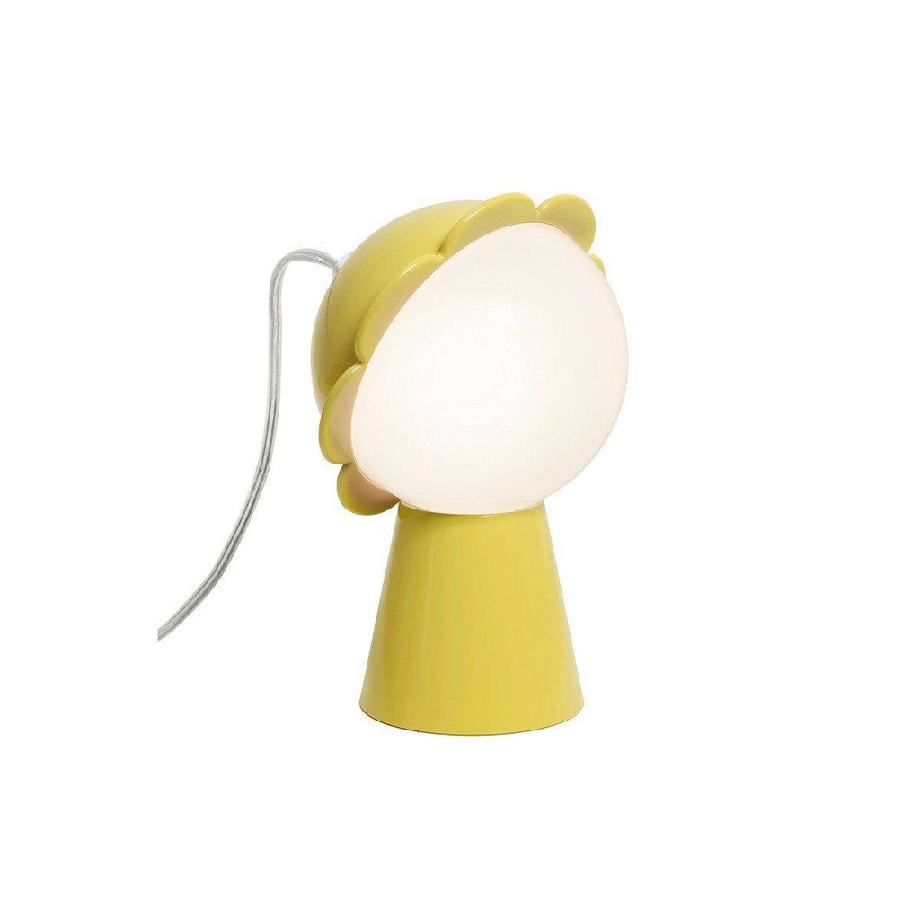 Lampe marguerite Daisy de Nika Zupanc - Qeeboo-Jaune-The Woods Gallery