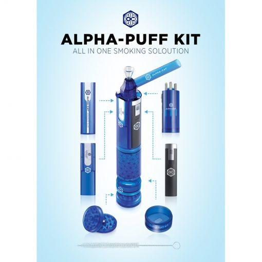 Alpha Cat® | The Alpha Puff™ All-in-One Smoking Kit-Stash Lab Technologies