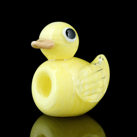"""Dank Duck"" Glass Duckling Chillum"